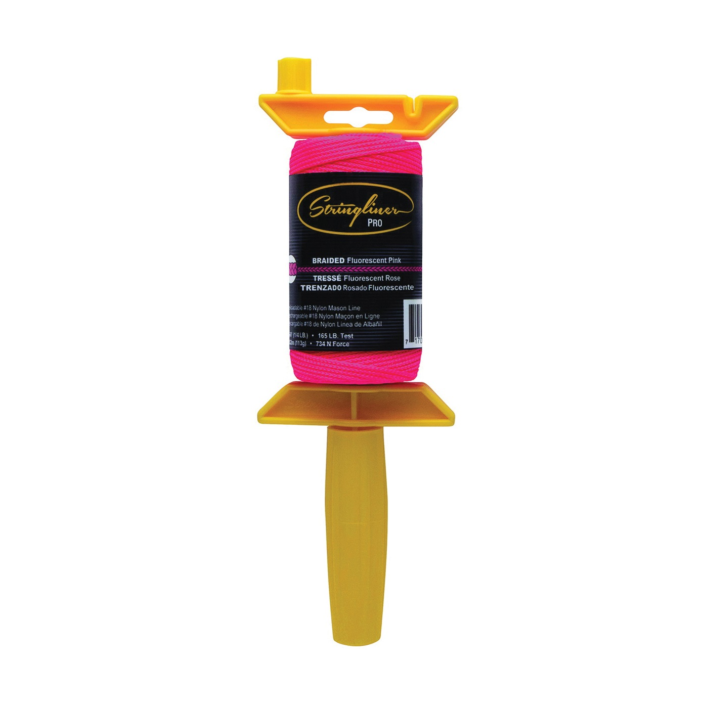 Picture of Stringliner 25162 Line Reel, 250 ft L Line, Fluorescent Pink Line