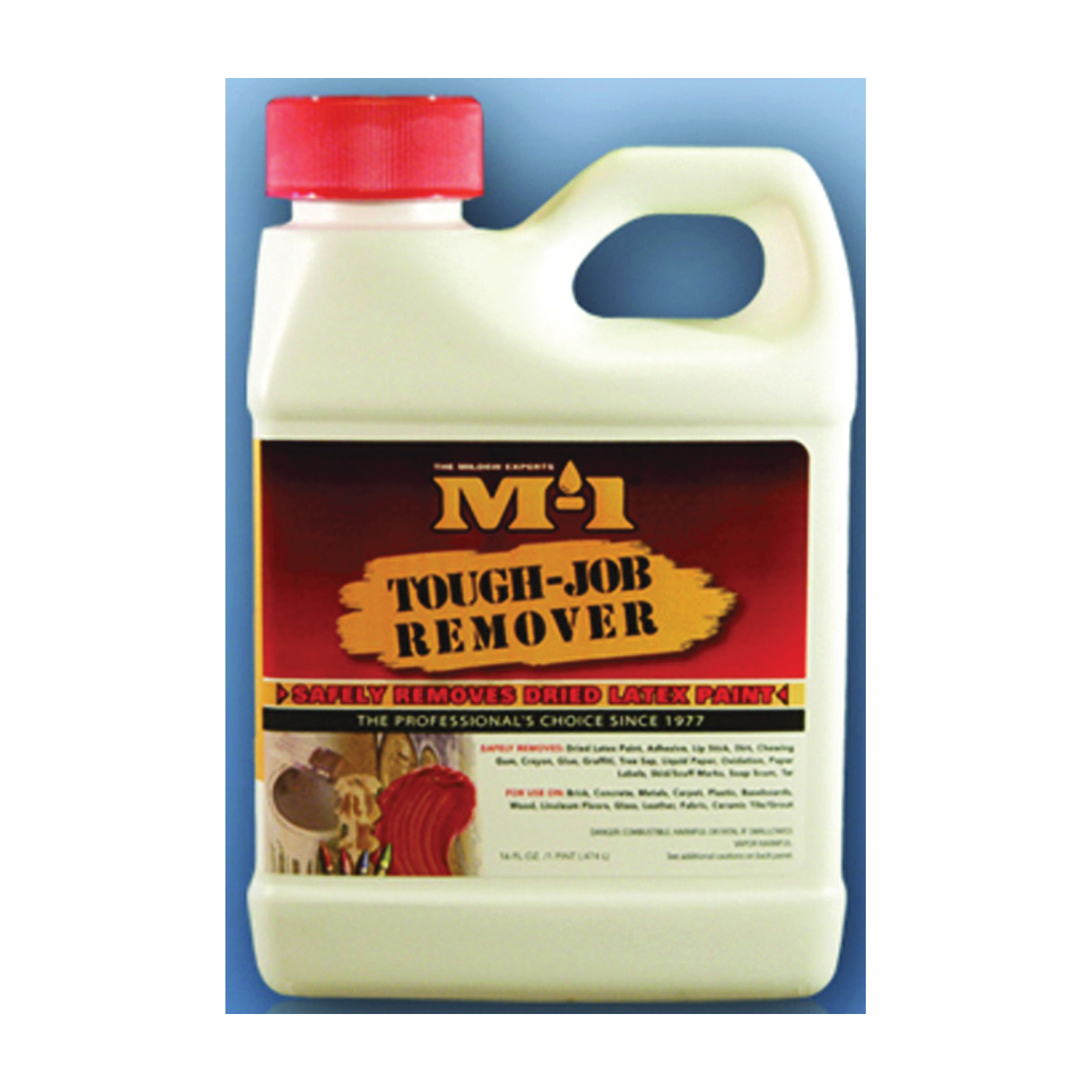Picture of M-1 TJR1P Cleaner, 1 pt Package, Bottle, Pungent Aromatic Hydrocarbon