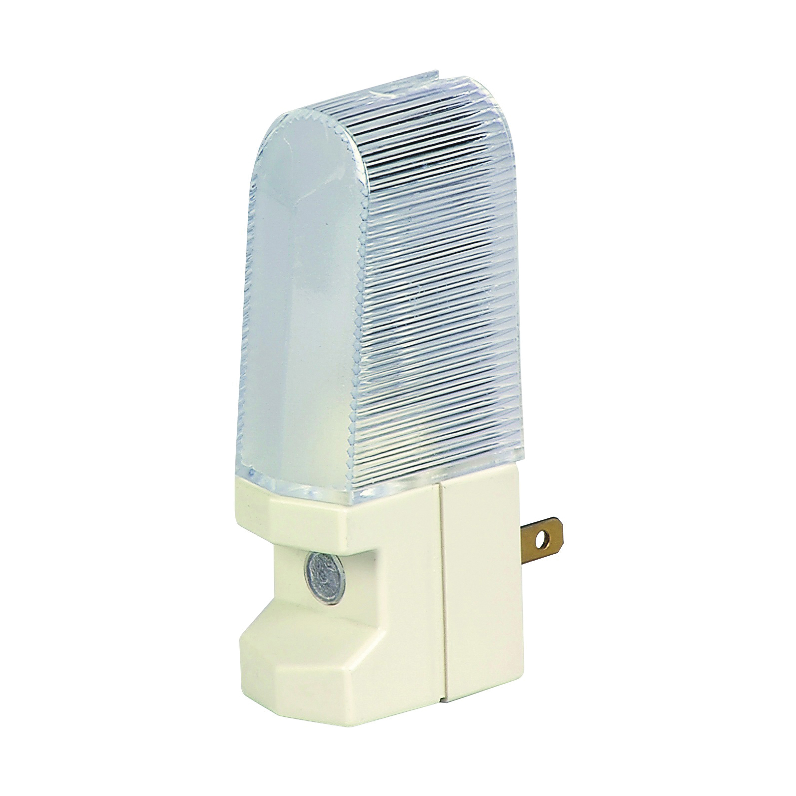 Picture of Eaton Wiring Devices BP851W Nightlight, 15 A, 125 V, 4 W, Incandescent Lamp, White Light