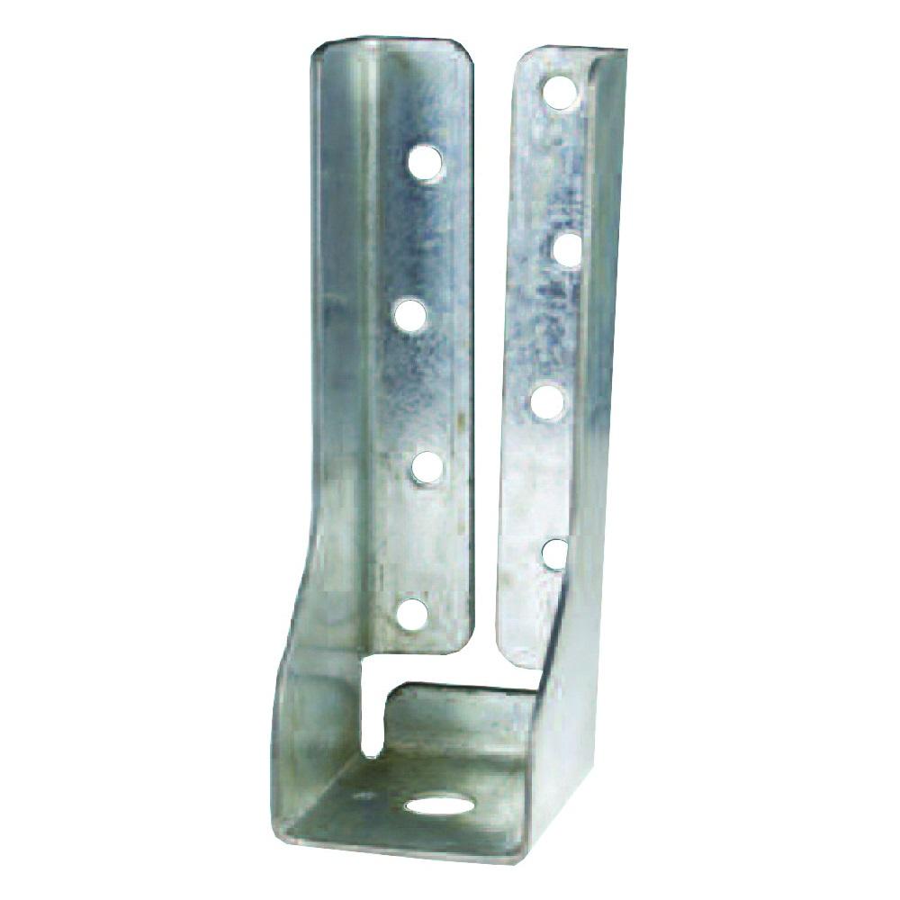 Picture of MiTek DTB-TZ Tie Bracket, 1-13/16 in W, Steel, Zinc