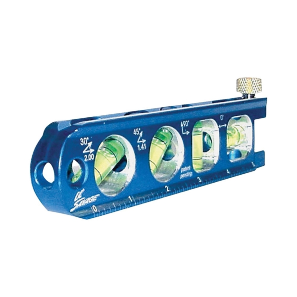 Picture of Swanson SAVAGE TL041M Torpedo Level, 6 in L, 4 -Vial, Magnetic, Aluminum
