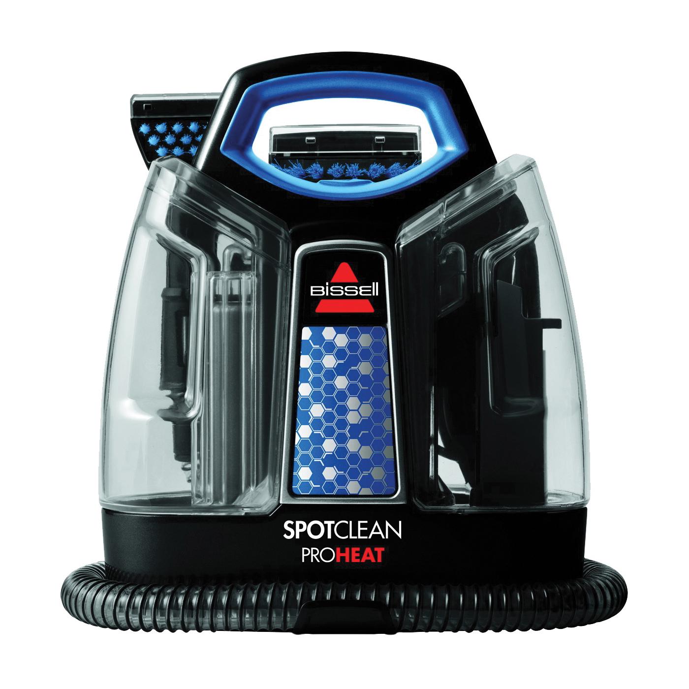 Picture of BISSELL 5207U Carpet Cleaner, 37 oz Tank, Black/Motley Blue