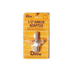 Picture of Dico 535-ARBOR Arbor Adapter, Silver, For: Mounting Buffing Wheels