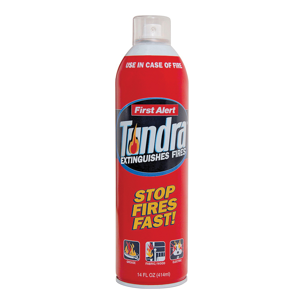Picture of FIRST ALERT Tundra AF400 Fire Extinguishing Aerosol Spray, 2.5 lb Capacity