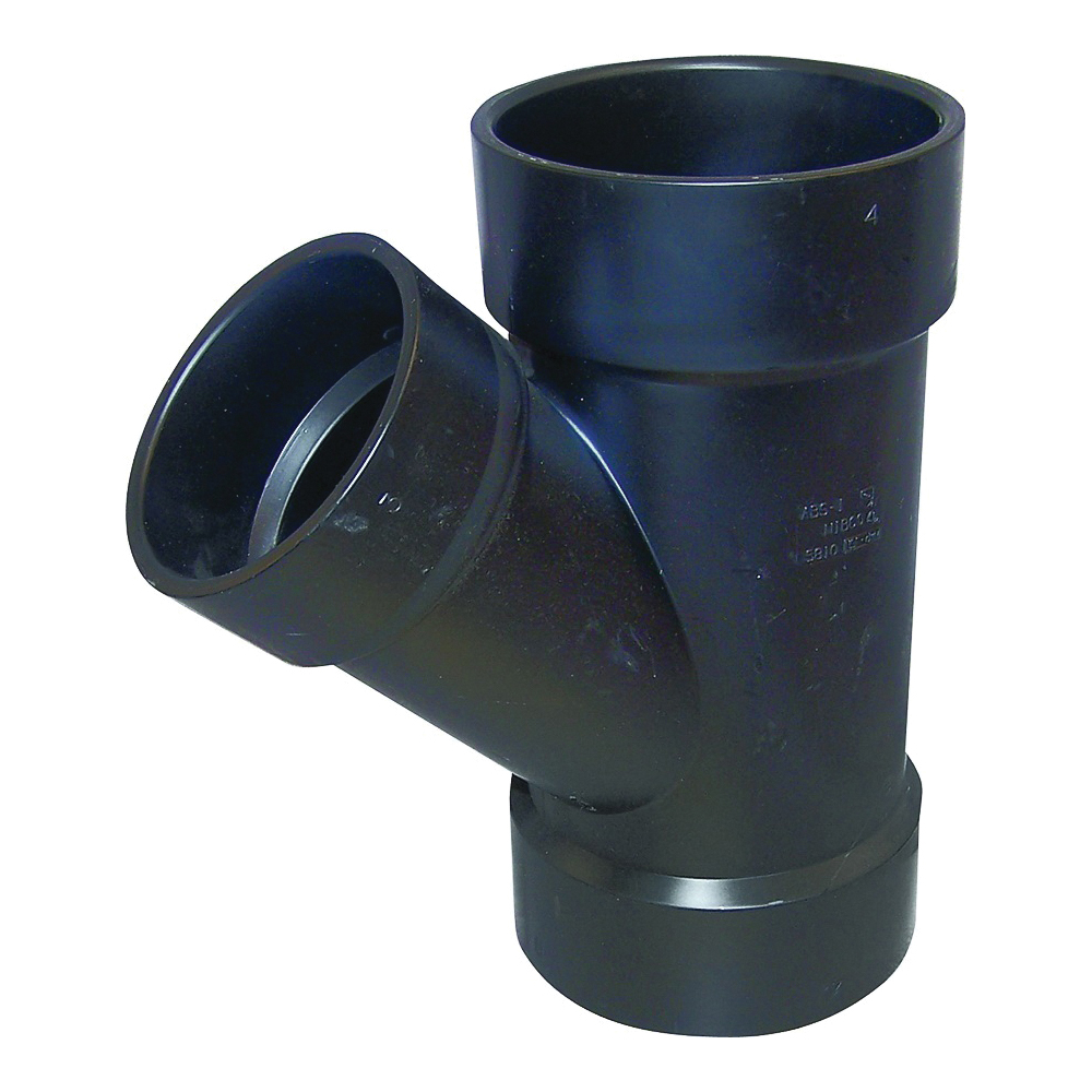 Picture of GENOVA 81032 Pipe Reducing Wye, 3 in Hub, 3 in, 2 in