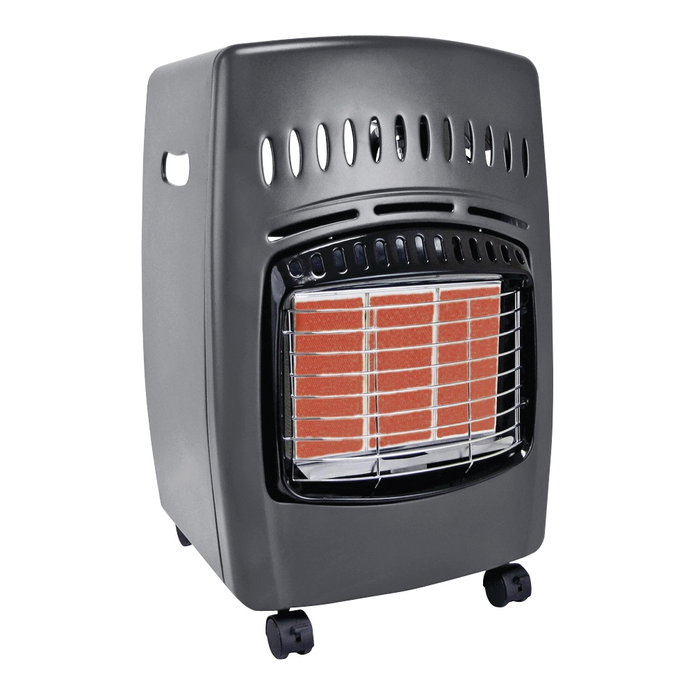 Picture of Comfort Glow GCH480 Cabinet Heater, 13-3/4 in W, 23 in H, 6000, 12,000, 18,000 Btu Heating, Liquid Propane, Steel