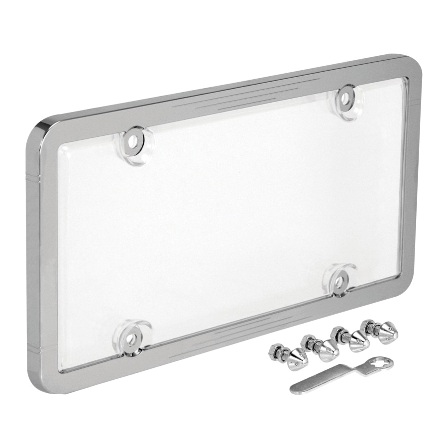 Picture of GENUINE VICTOR 22-1-46398-8 License Plate Frame, 14 in L, 3 in W