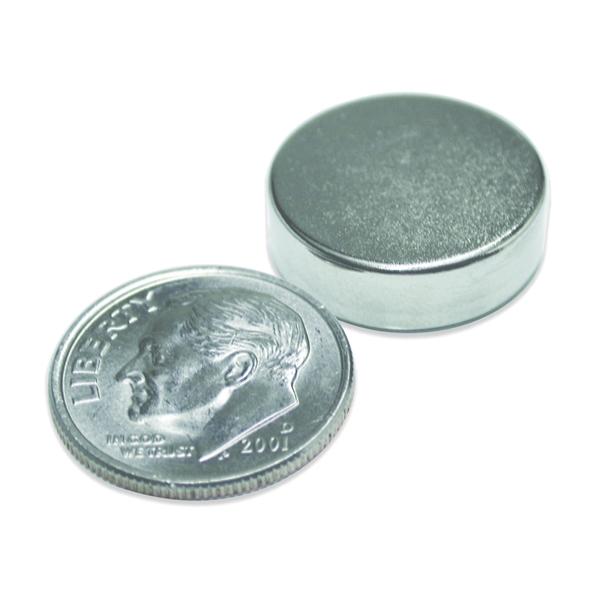 Picture of Magnet Source 07046 Super Magnetic Disc, Neodymium, 0.472 in Dia, 0.118 in H
