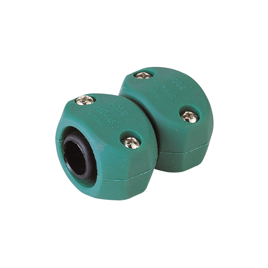 Picture of Landscapers Select GC5323L Hose Mender, 5/8 to 3/4, Male, Plastic, Black and Green