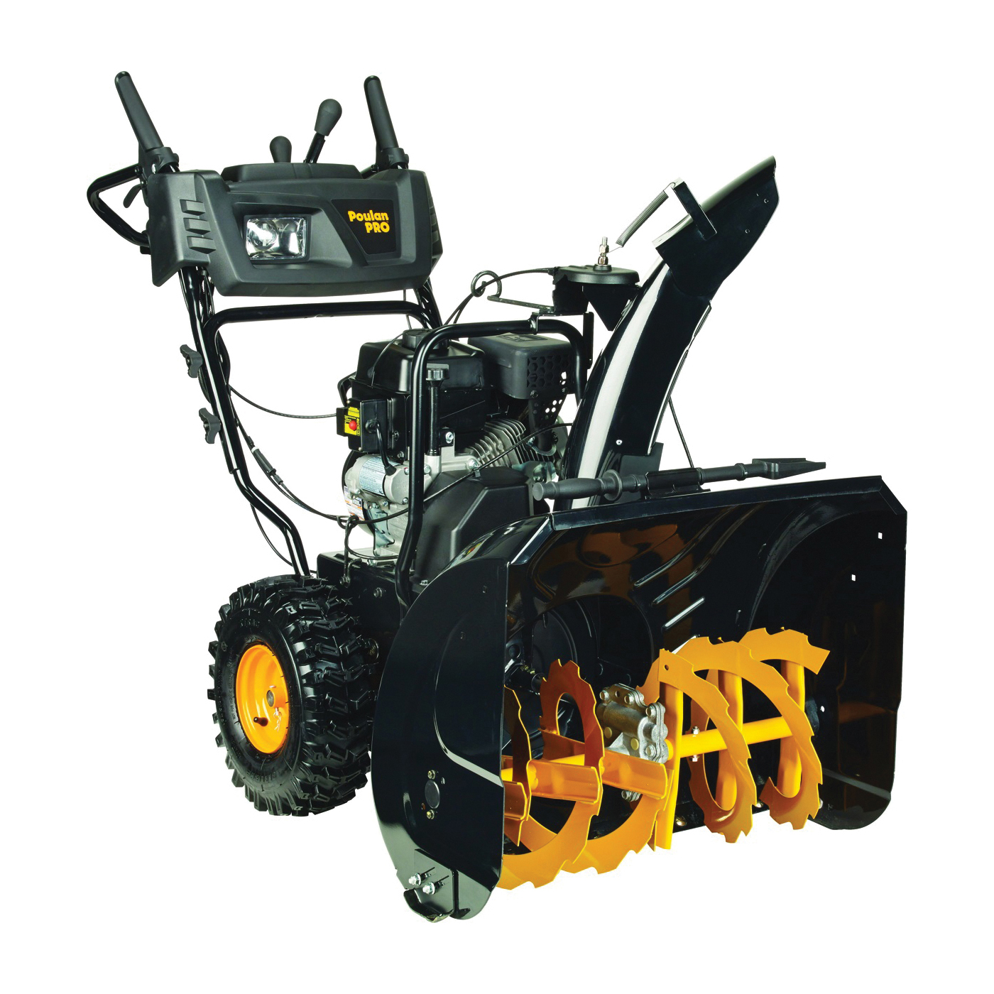 Picture of Poulan Pro PR271 Snow Thrower with Power Steering, 2 -Stage, 27 in W Cleaning