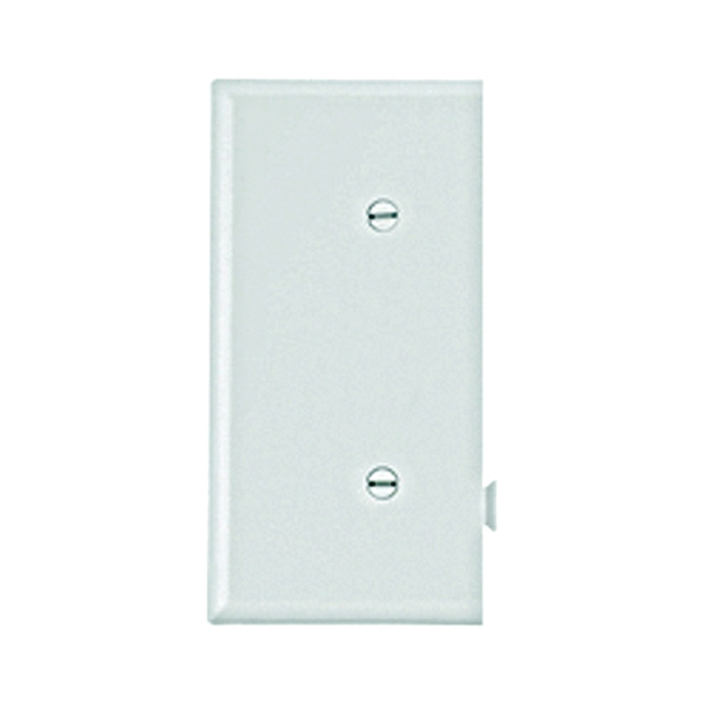 Picture of Eaton Cooper Wiring STE14W Wallplate, 2-9/16 in L, 4.84 in W, 1-Gang, Polycarbonate, White, High-Gloss