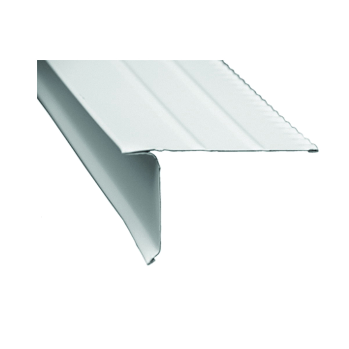 Picture of Amerimax F50WA6 Roof Edge, 10 ft L, Aluminum, White