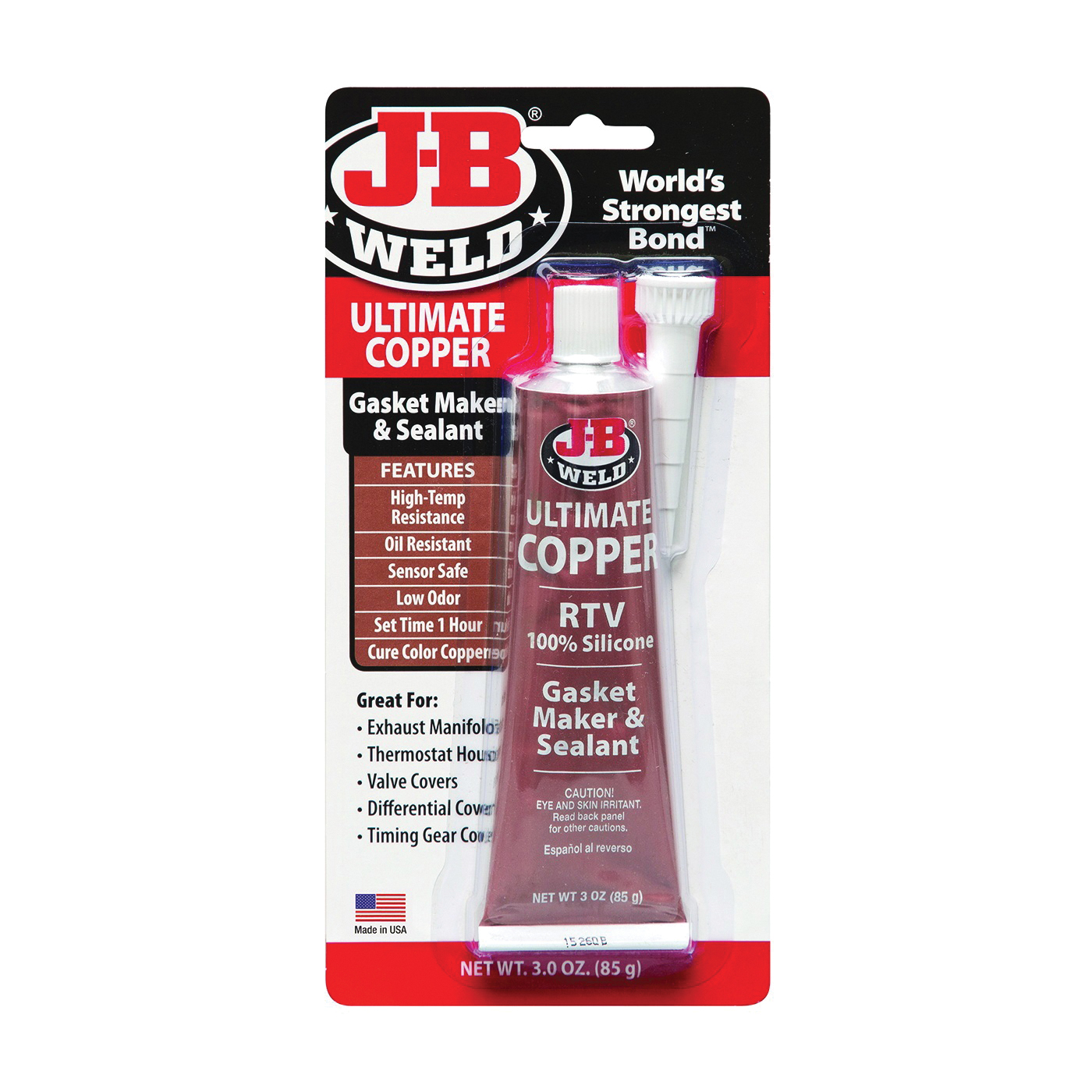 Picture of J-B WELD 32325 Gasket Maker and Sealant, 3 oz