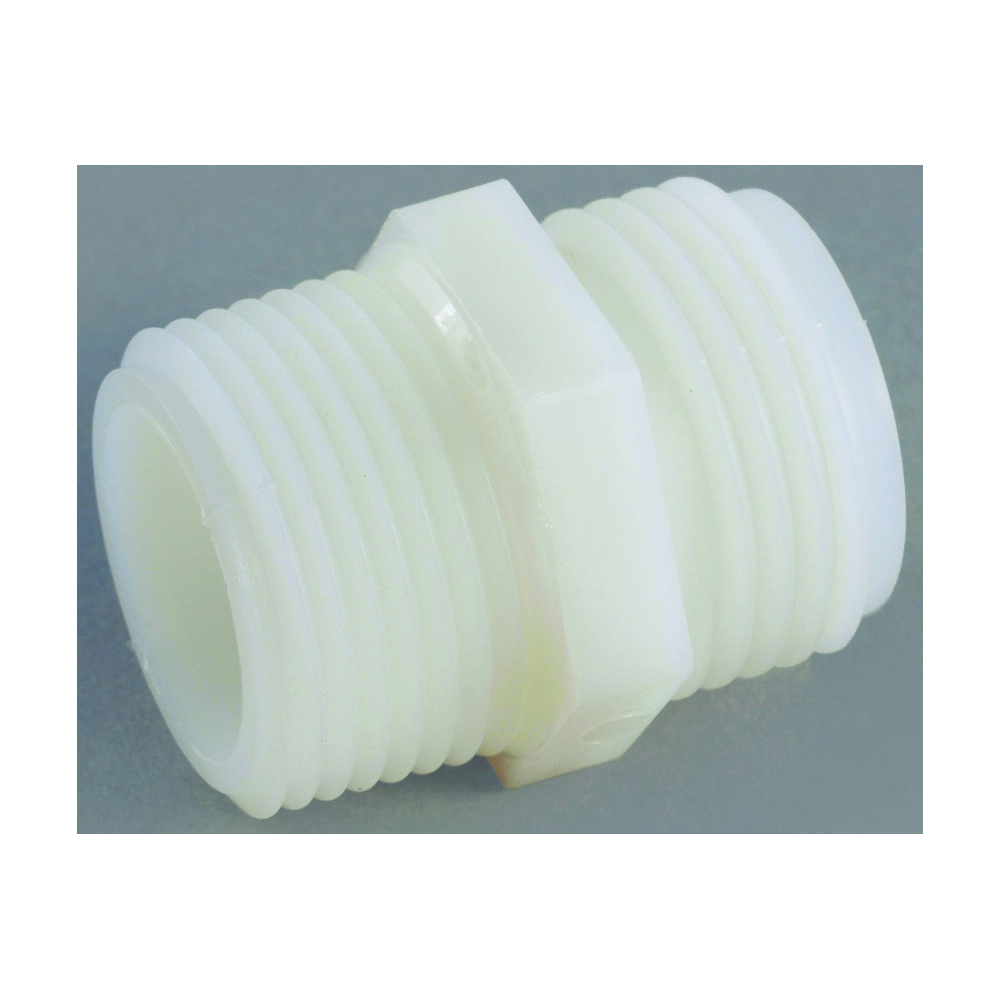 Picture of Anderson Metals 53778-1212 Hose Adapter, 3/4 x 3/4 in, GHT x MPT, Nylon, For: Garden Hose
