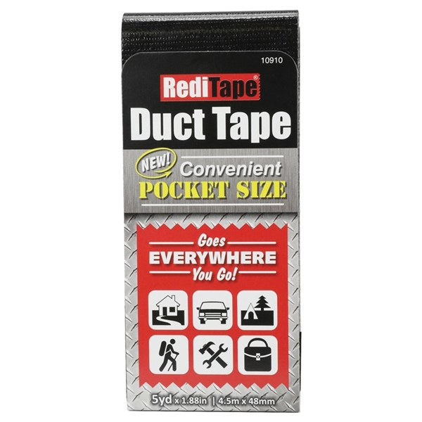 Picture of Danco 10910 Duct Tape, Black