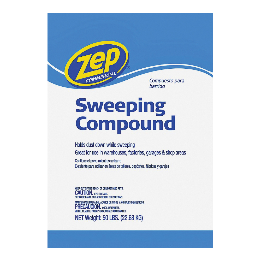 Picture of Zep HDSWEEP50 Sweeping Compound, 50 lb Package, Bag, Solid, Odorless