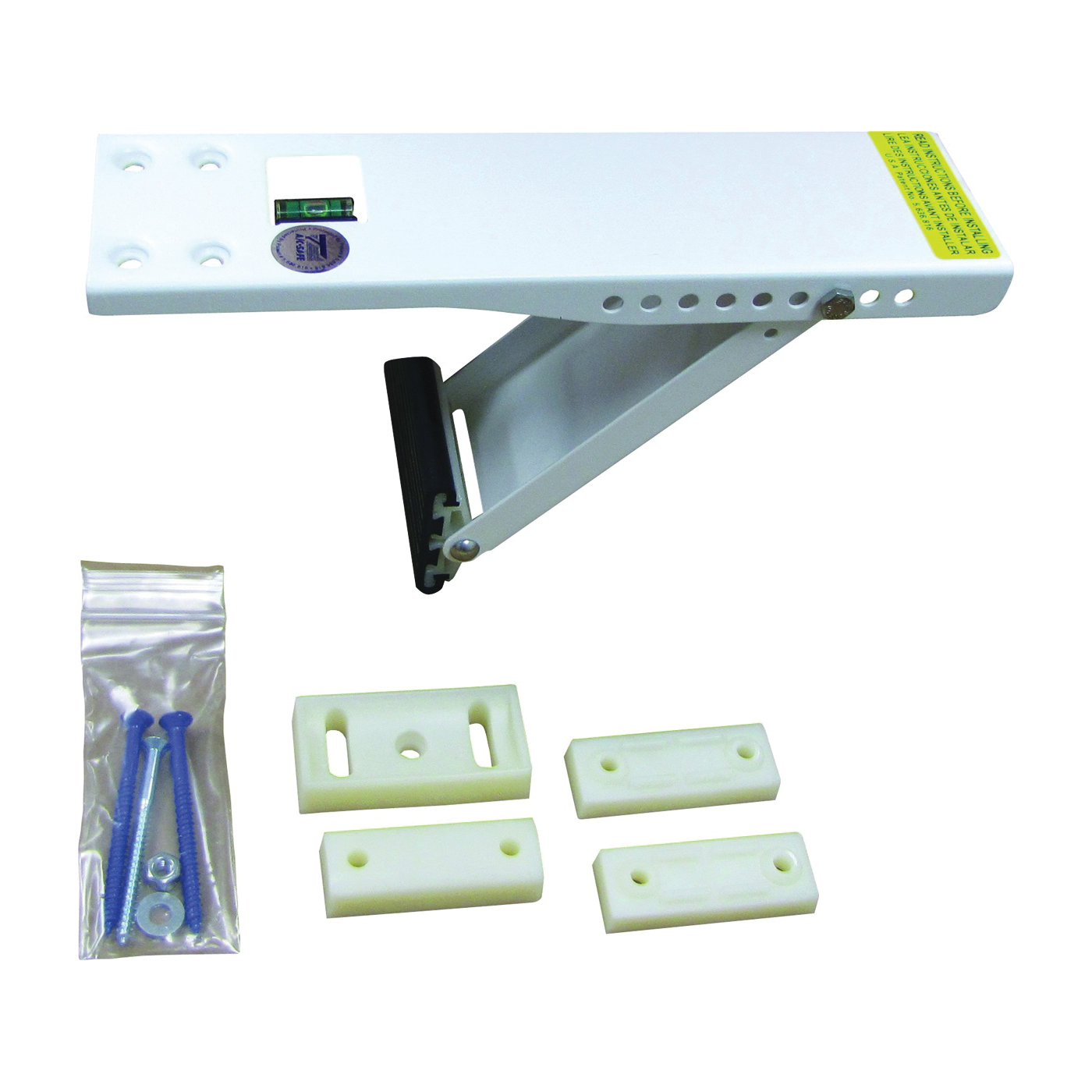 Picture of Comfort-Aire AS080 Window Support Bracket, Steel, Baked-On Epoxy, For: Air Conditioners up to 80 lb