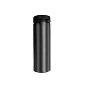 Picture of SELKIRK DSP7P36-1/267036 Stove Pipe, 7 in ID x 7-1/2 in OD Dia, 36 in L, Aluminized Steel/Stainless Steel, Black