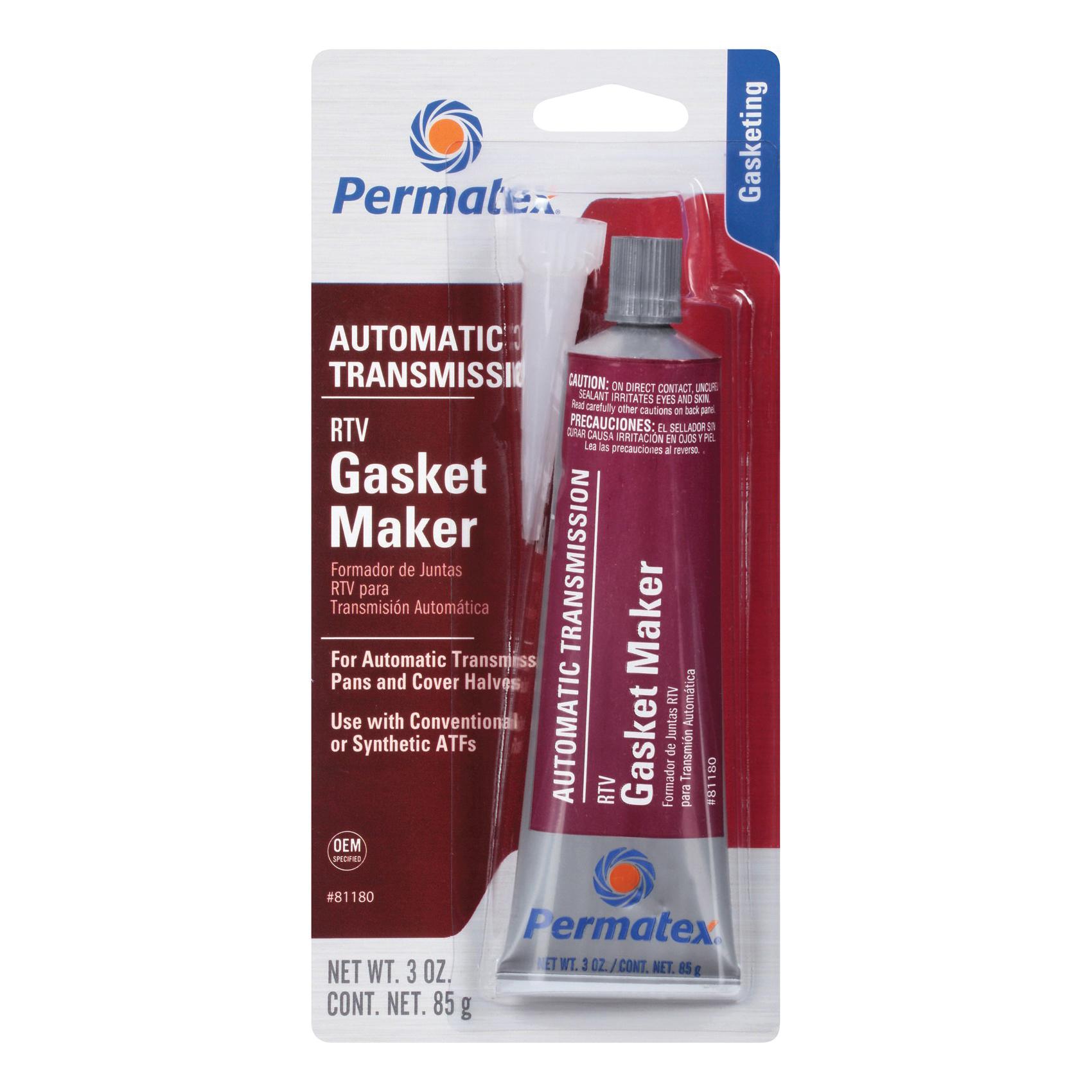 Picture of Permatex 81180 Gasket Maker, 3 oz Package, Tube, Paste, Mild