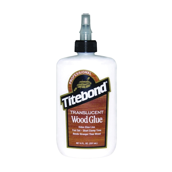Picture of Titebond 6123 Wood Glue, White, 8 oz Package, Bottle