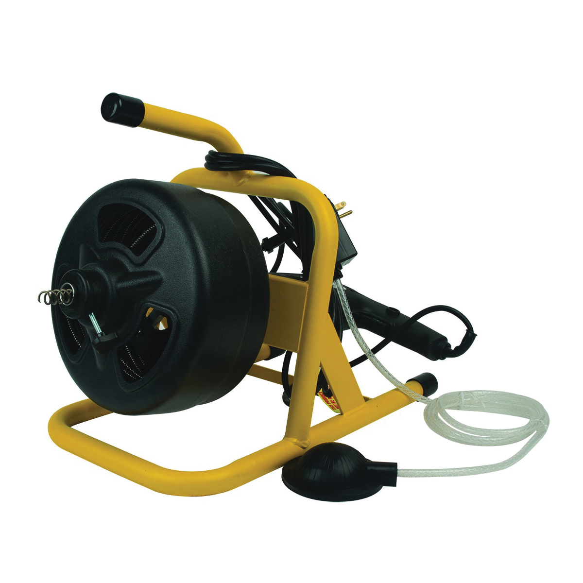 Picture of COBRA TOOLS 20 Series 90020 Drum Machine, 1/4 in Dia Cable, 50 ft L Cable, Pneumatic Foot Switch Control