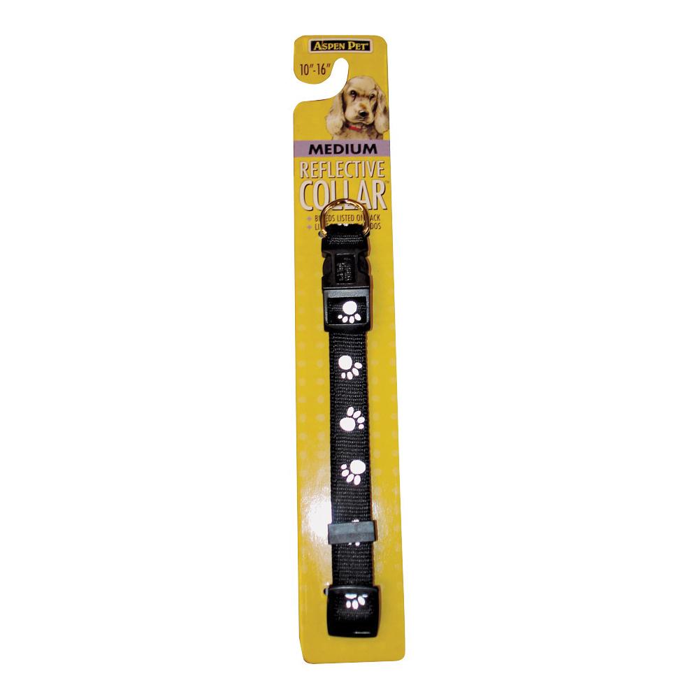 Picture of Aspenpet 27878 Dog Collar, 10 to 16 in L Collar, 5/8 in W Collar, Nylon, Black