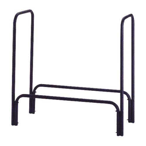 Picture of Simple Spaces A910BK-C Log Rack, 14 in W, 48 in D, 48 in H, Black