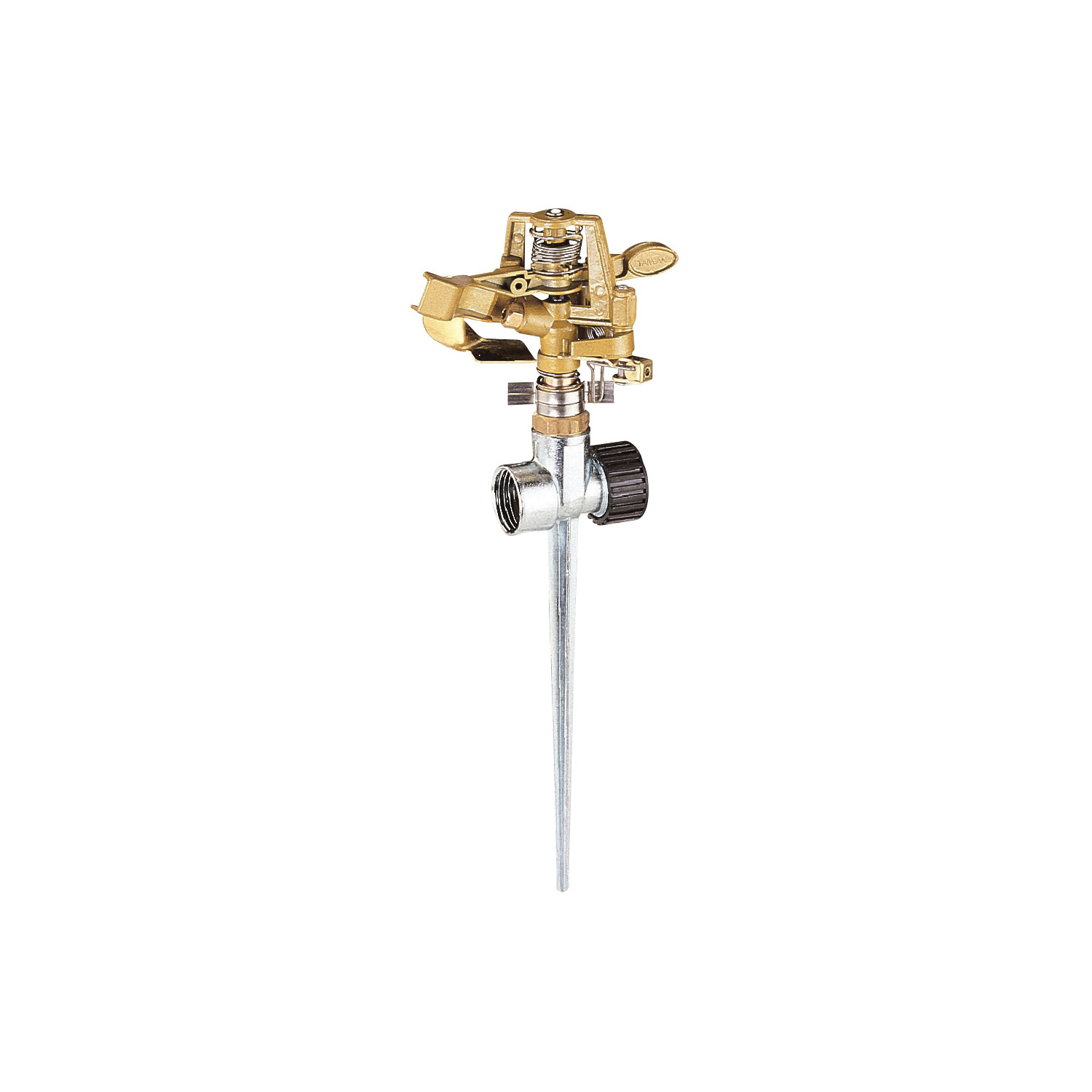 Picture of Landscapers Select GS81713L Sprinkler with Spike, Female, Round, Zinc