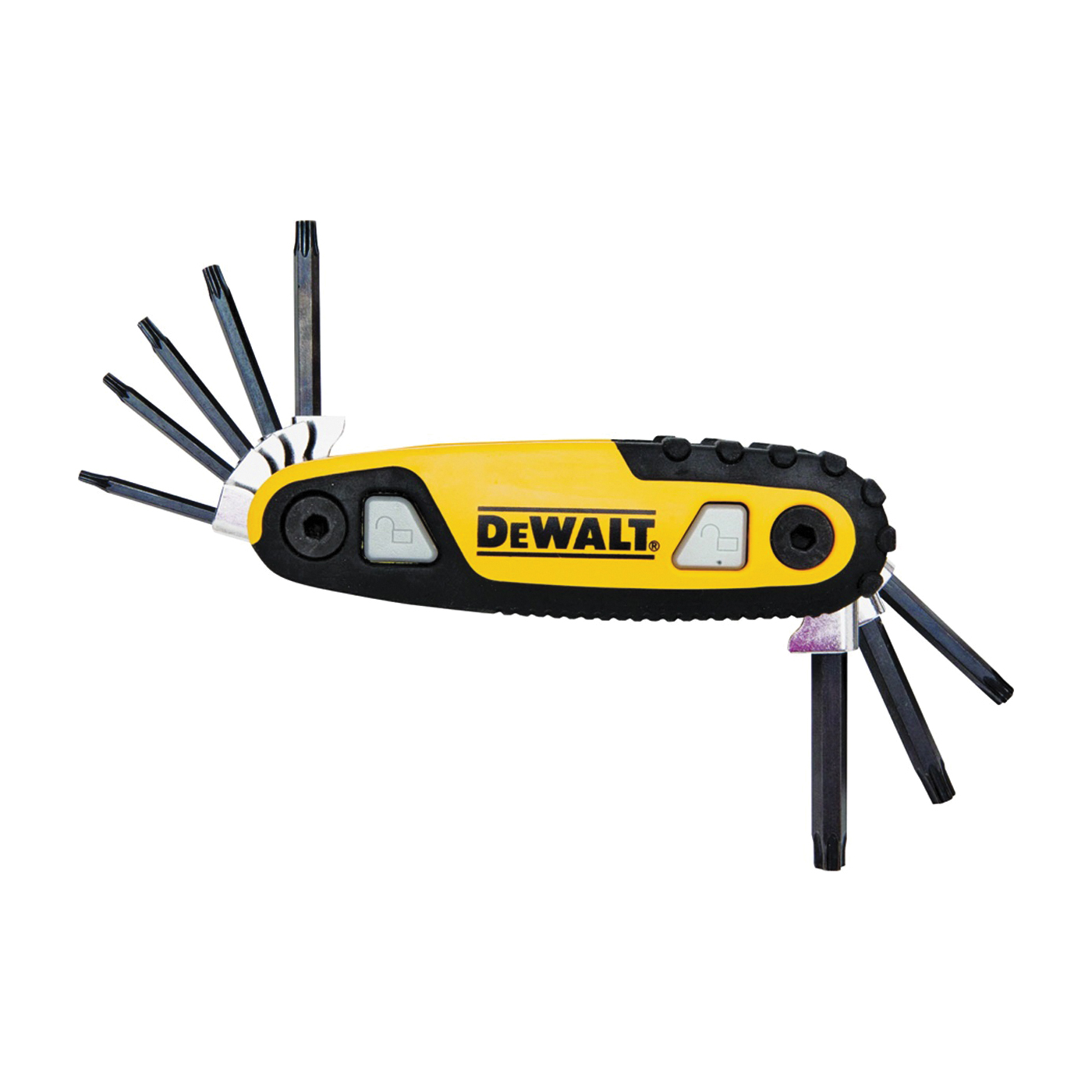 Picture of DeWALT DWHT70264 Hex Key Set, Ergonomic Handle