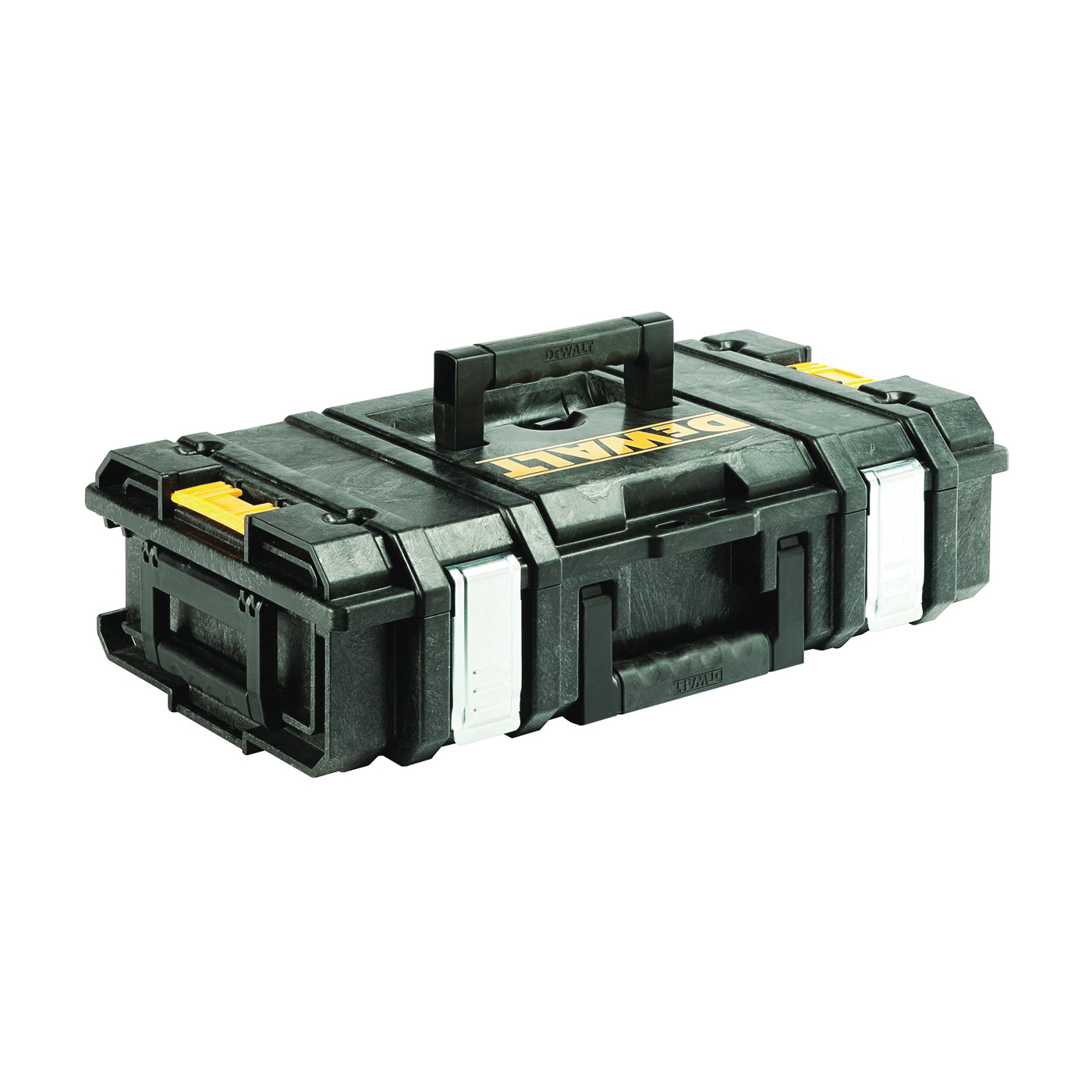 Picture of DeWALT ToughSystem DS150 Series DWST08201 Tool Box, 66 lb, Polypropylene, Black