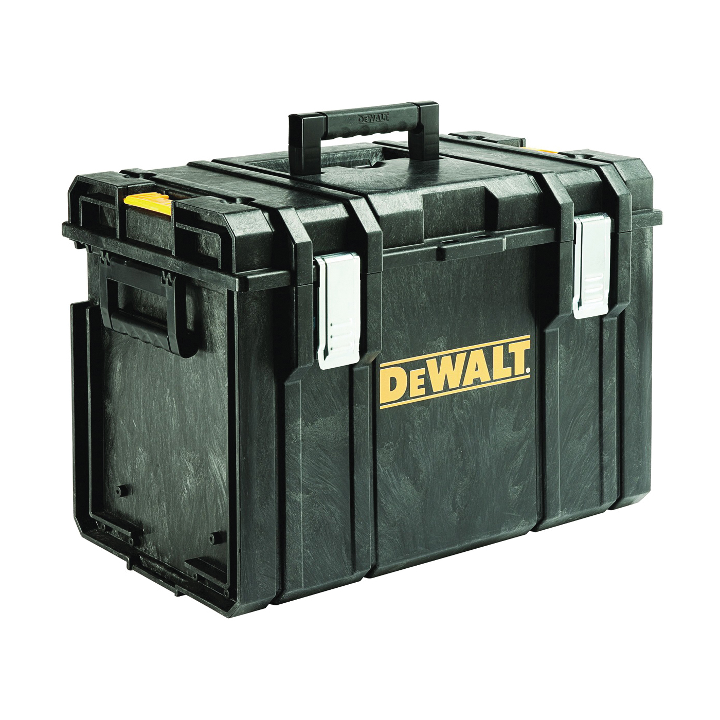 Picture of DeWALT ToughSystem DS400 Series DWST08204 Tool Box, 110 lb, Plastic, Black
