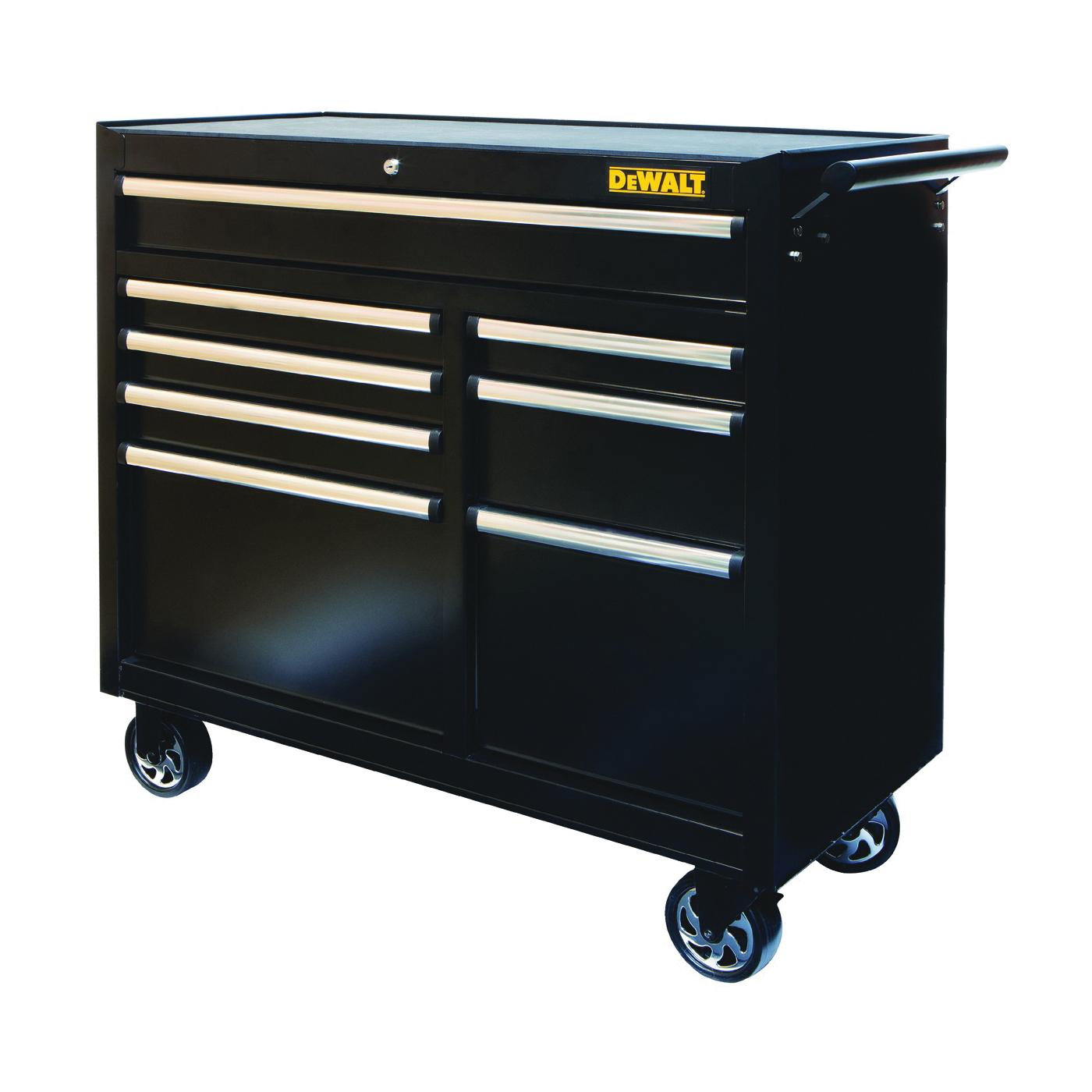 Picture of DeWALT DWMT81245 Drawer Cabinet, 12,533 cu-in Capacity, 40 in W, 38 in H, 8 -Drawer, Steel, Black