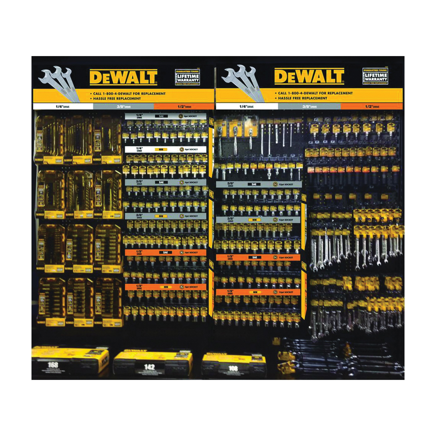 Picture of DeWALT DWMT74212 Socket Set, Specifications: 3/8 in Drive Size