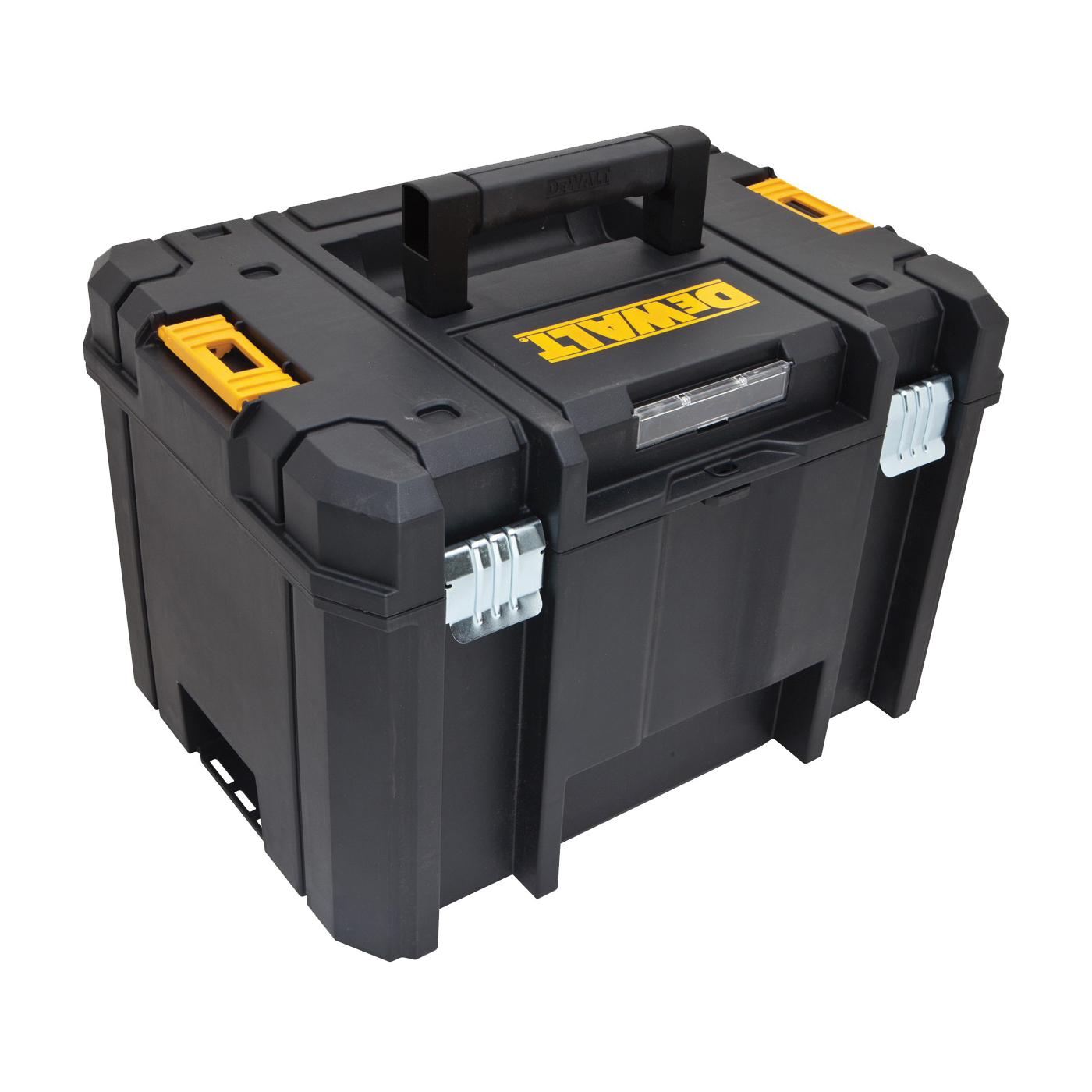 Picture of DeWALT TSTAK VI DWST17806 Deep Box, 66 lb, Plastic, Black