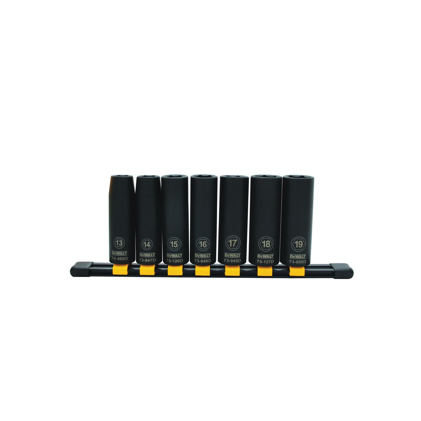 Picture of DeWALT DWMT74449OSP Socket Set, Specifications: 1/2 in Drive Size