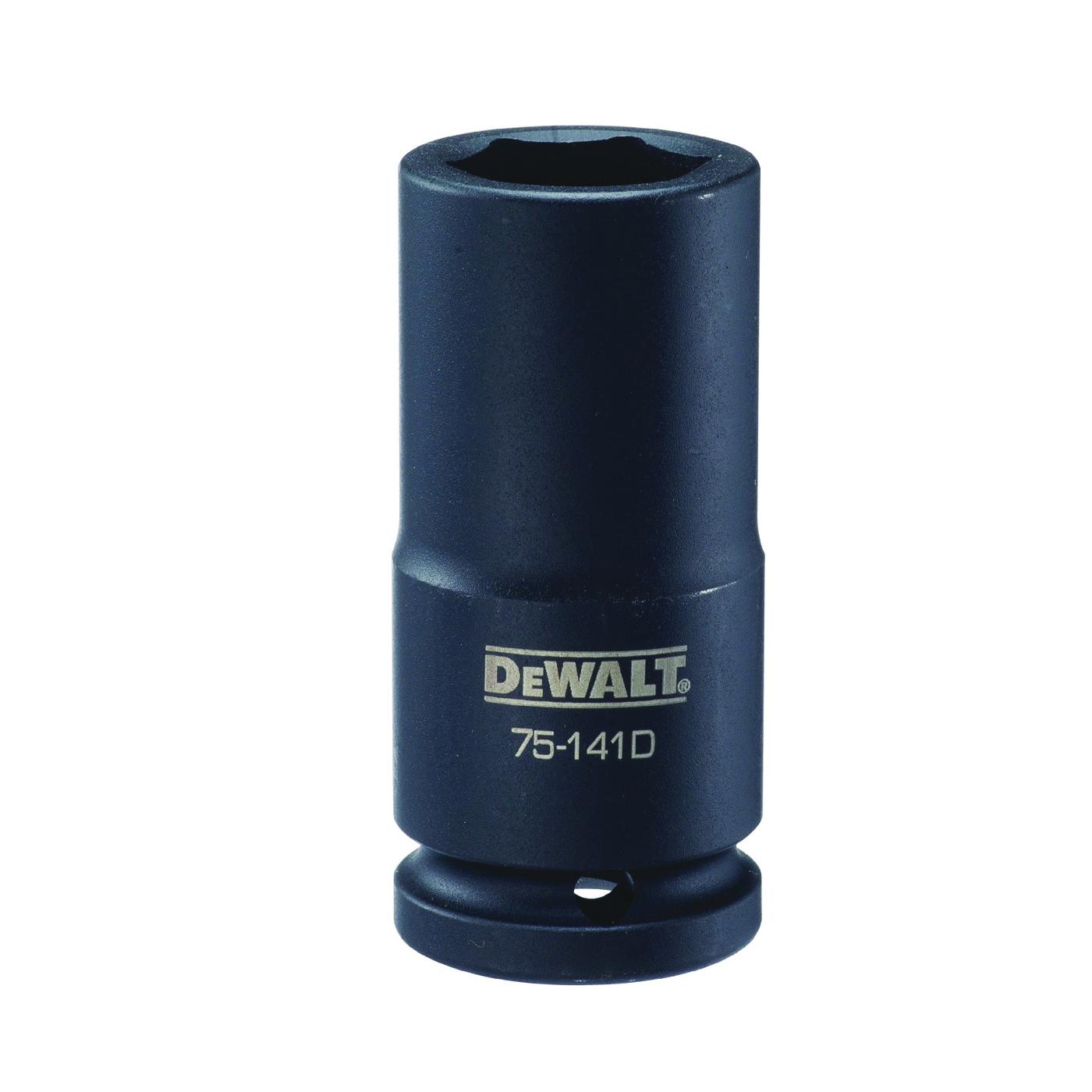 Picture of DeWALT DWMT75141OSP Impact Socket, 24 mm Socket, 3/4 in Drive, 6 -Point, CR-440 Steel, Black Oxide