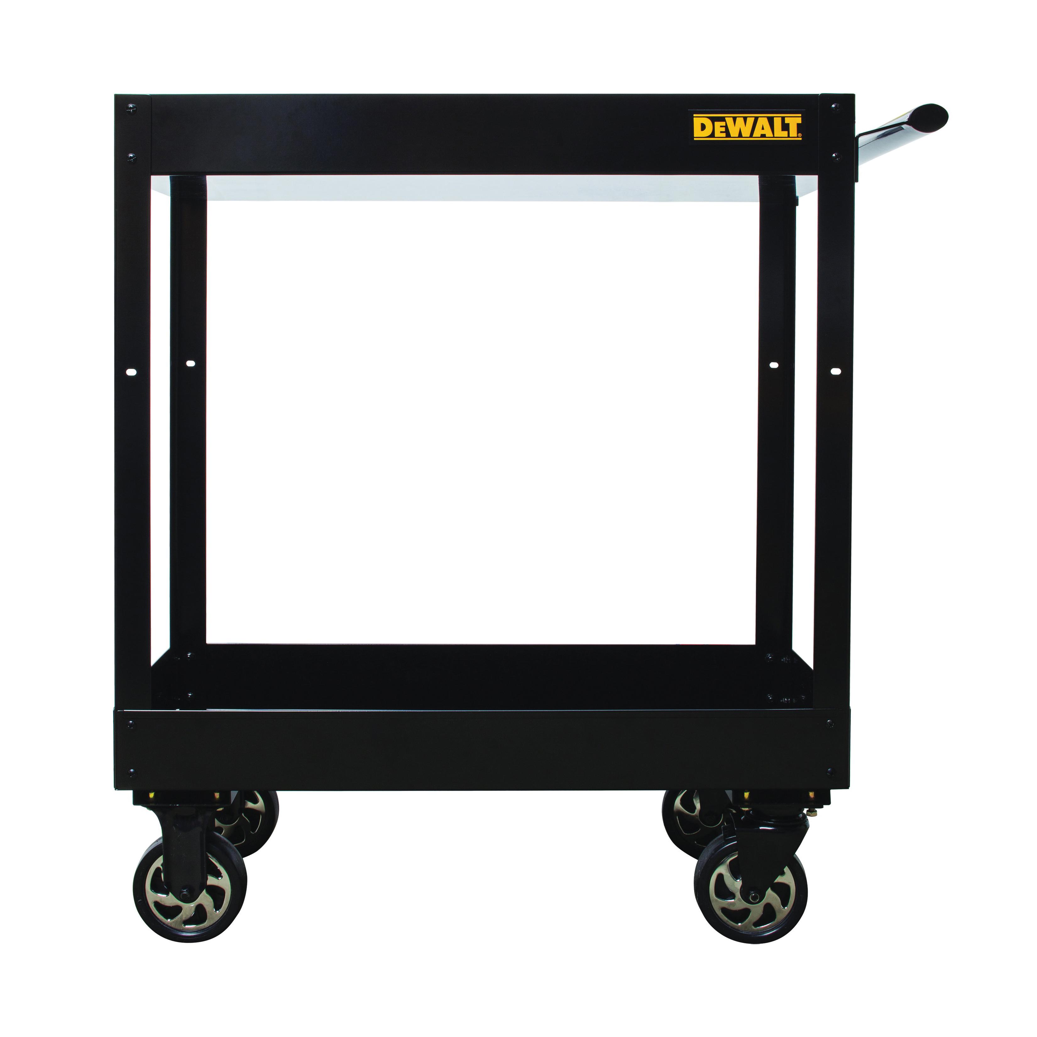 Picture of DeWALT DWMT78086 Utility Cart, 3540 cu-in, 32 in OAW, 38 in OAH, Steel, Black