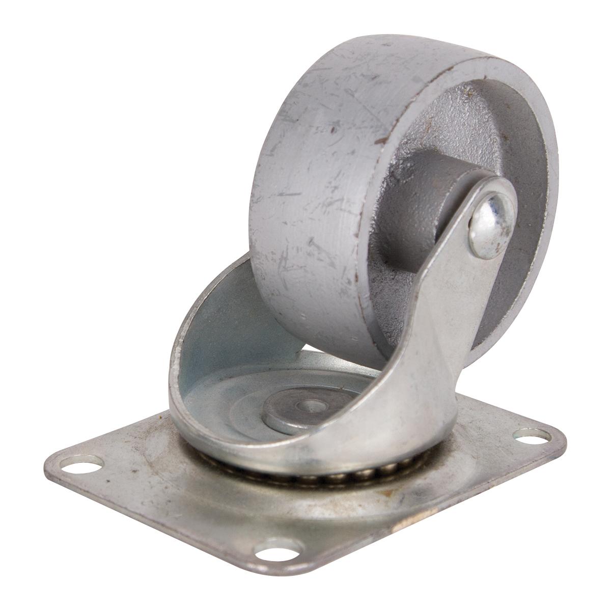 Picture of ProSource JC-S07 Swivel Caster, 3 in Dia Wheel, Steel Wheel, 250 lb