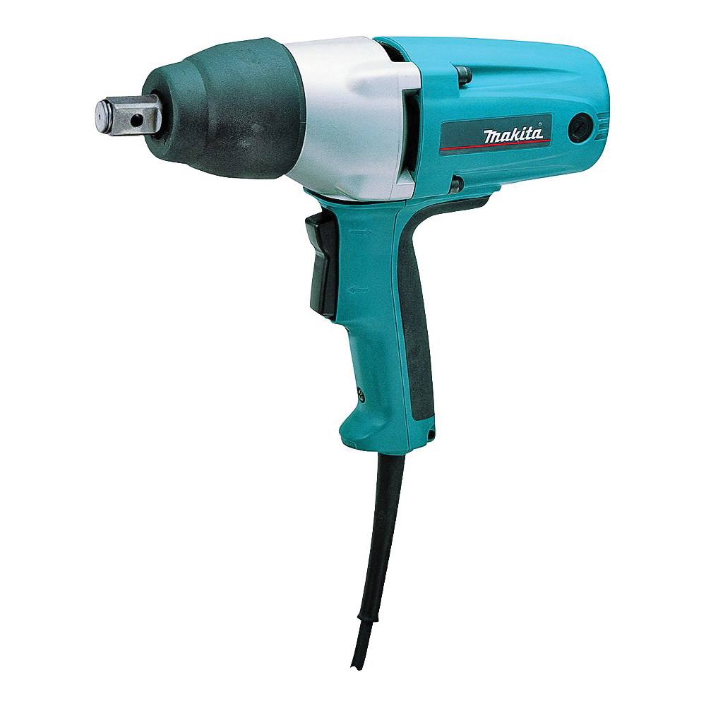Picture of Makita TW0350 Impact Wrench with Detent Pin Anvil, 120 V, 1/2 in Drive, Square Drive, 258 ft-lb, 2000 ipm IPM