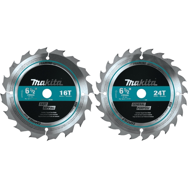 Picture of Makita T-01426 Circular Saw Blade Set, 2 -Piece, Carbide