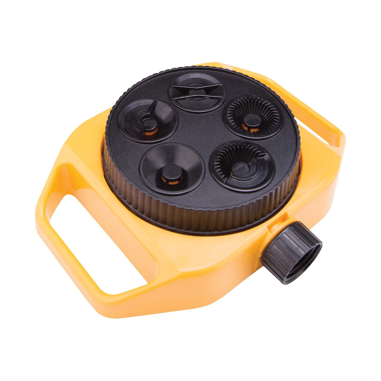Picture of Landscapers Select GS84903L Turret Sprinkler, Female, 5-Pattern, Plastic
