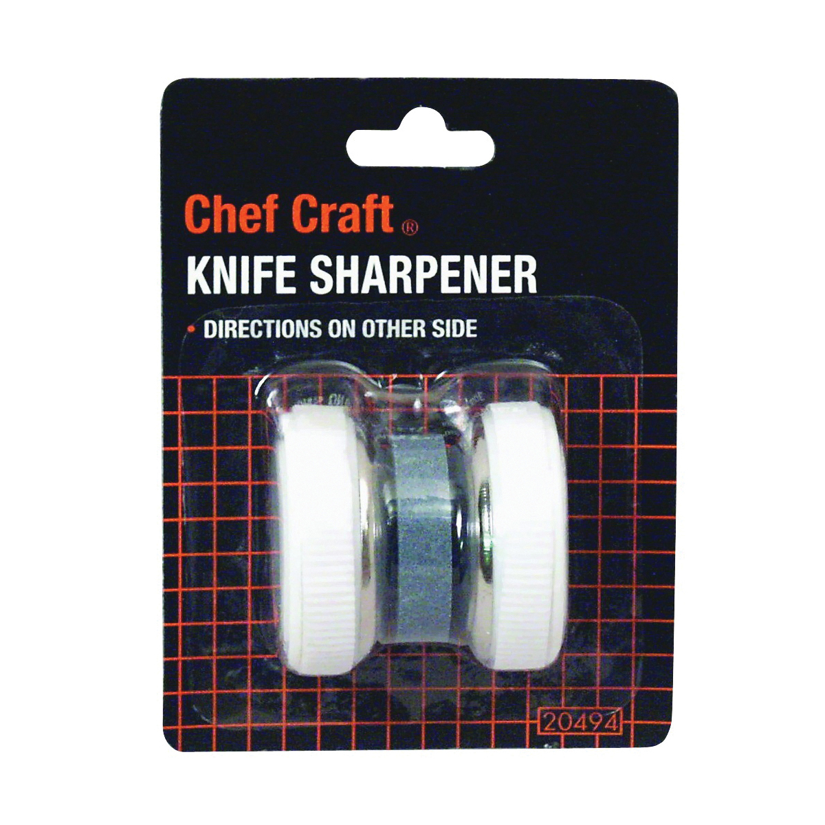 Picture of CHEF CRAFT 20494 Knife Sharpener, White