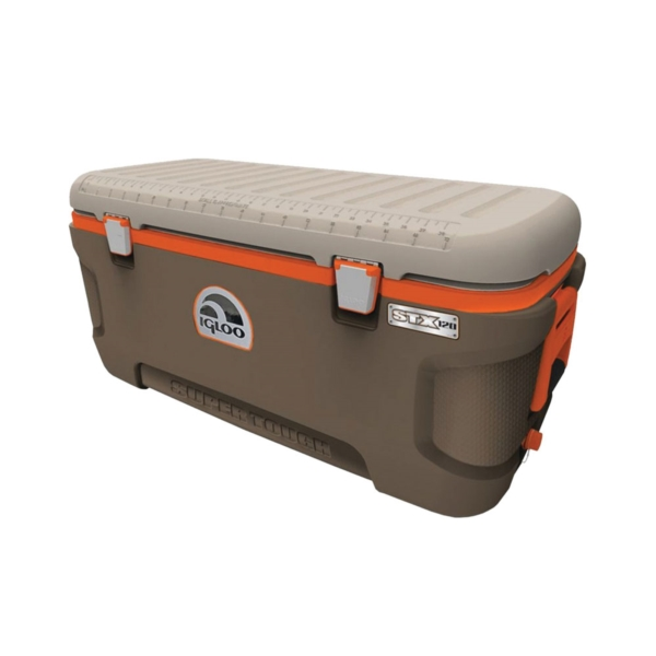 Picture of IGLOO 44938 Ice Chest, 120 qt Cooler, Up to 5 days Ice Retention