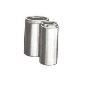 Picture of SELKIRK 208012 Chimney Pipe, 10 in OD, 12 in L, Stainless Steel
