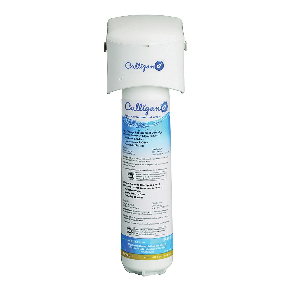Picture of Culligan IC-EZ-1 Icemaker and Refrigerator Filter, 3000 gal Capacity, 0.5 gpm