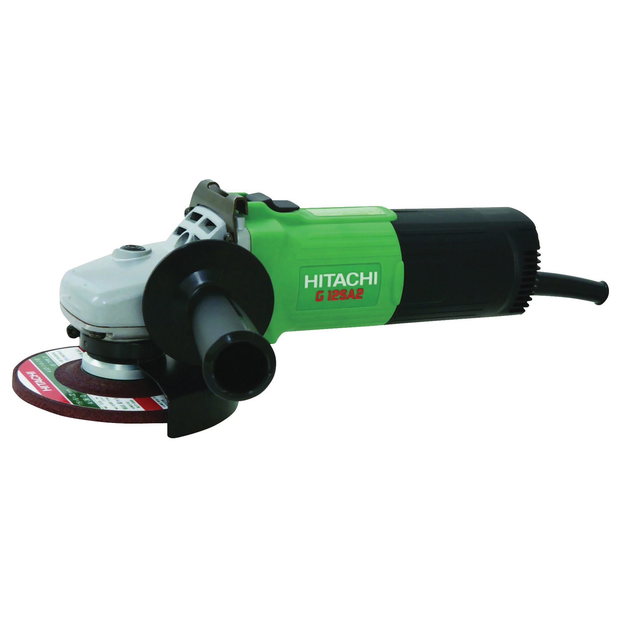Picture of HITACHI G12SA3 Angle Grinder, 8 A, 910 to 1900 W, 5/8-11 Spindle, 4-1/2 in Dia Wheel, 10,000 rpm Speed