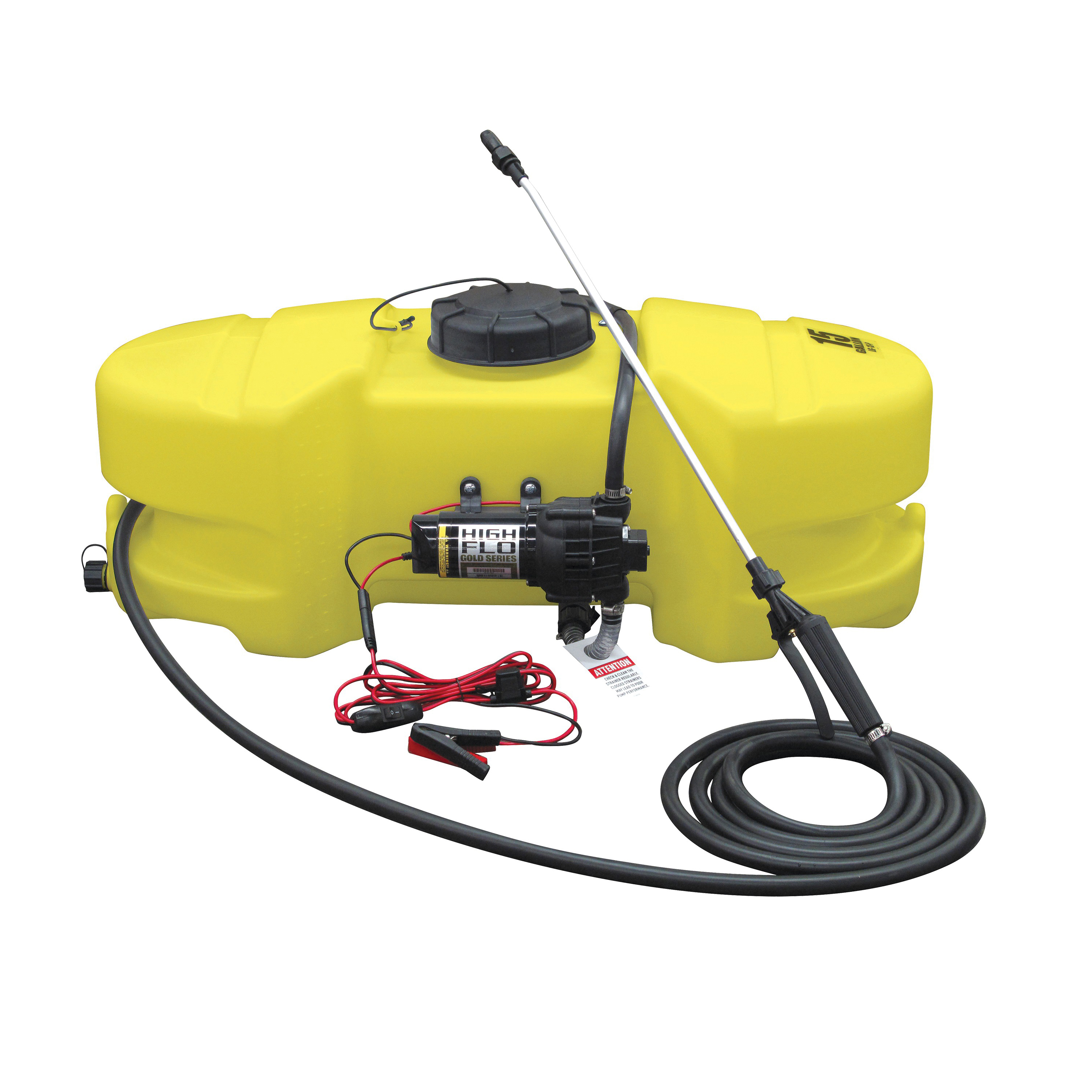 Picture of AG SOUTH Gold SC15-SS-GTNS Spot Sprayer, 15 gal Capacity, 15 ft L Hose