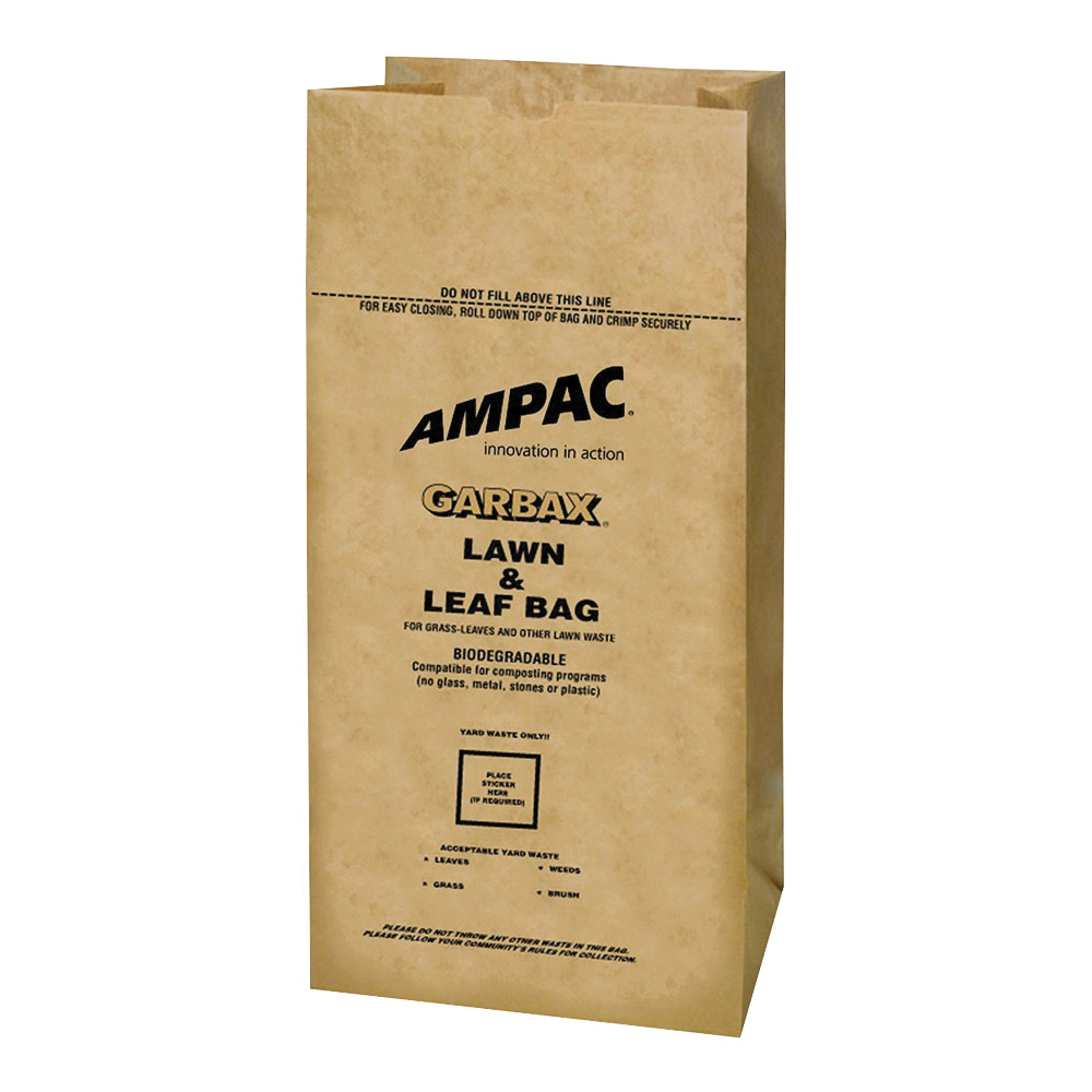 Picture of Ampac WGBPL-16 Lawn and Leaf Bag, 30 gal Capacity, Paper