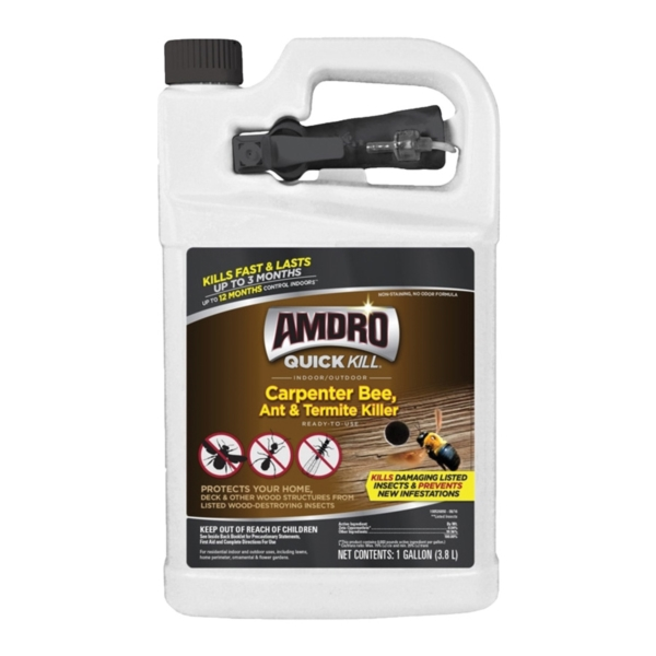 Picture of Amdro QUICK KILL 100526850 Carpenter Bee Killer, Liquid, Indoor, Outdoor, 1 gal Package