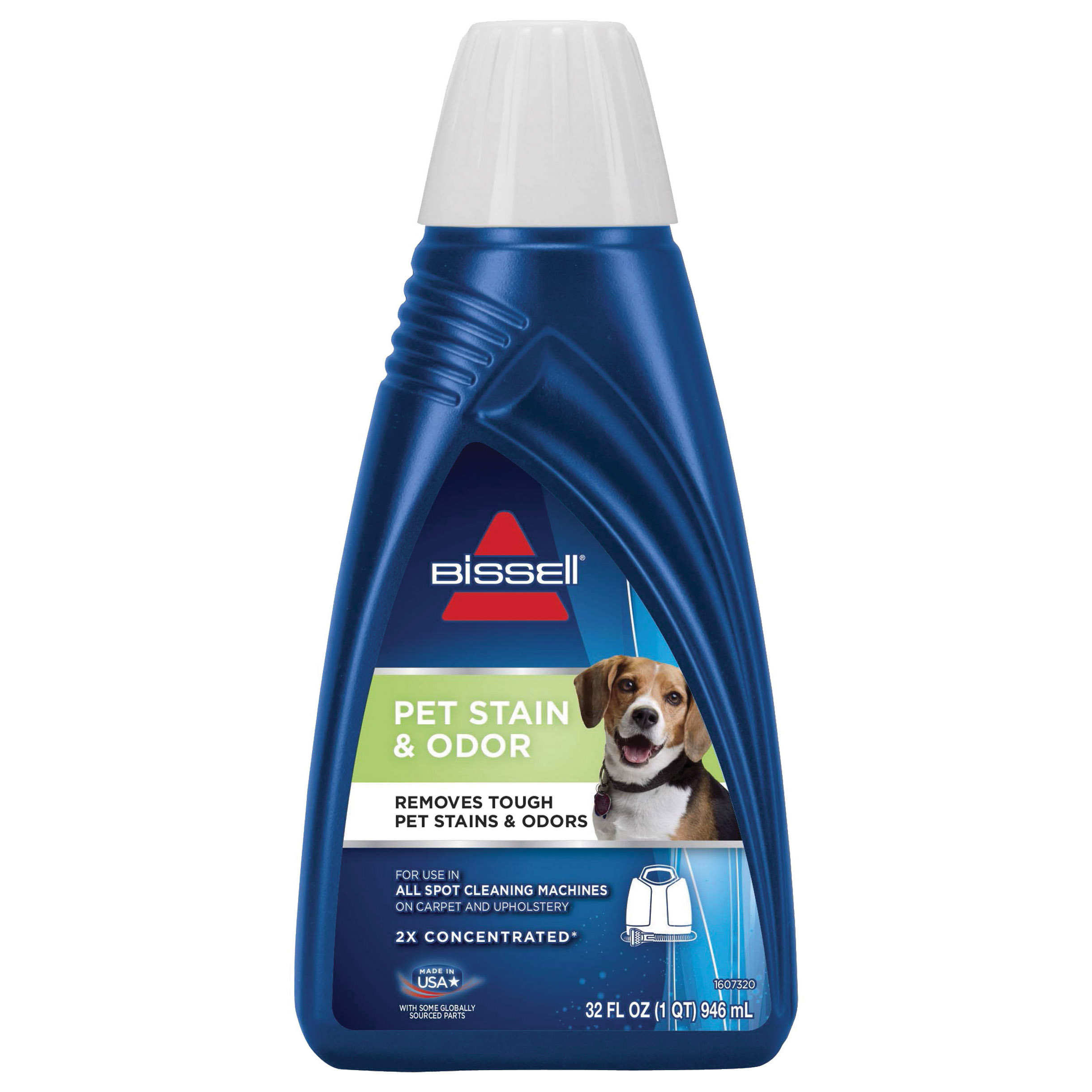 Picture of BISSELL 74R7 Pet Stain and Odor Remover, Liquid, Characteristic Fragrance, 32 oz Package, Bottle
